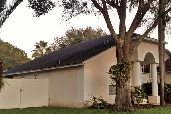 Shingle Roof Repair Before